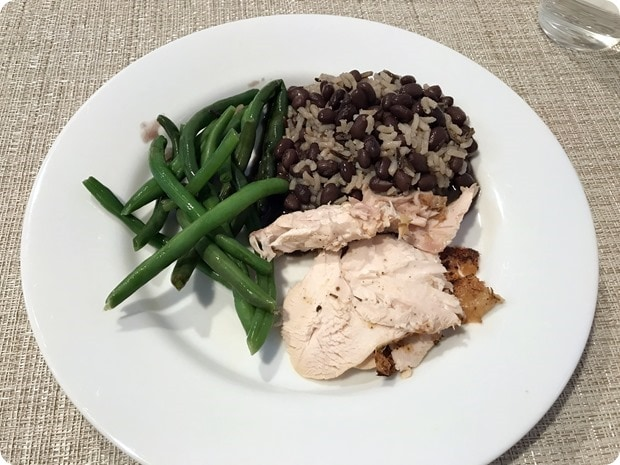 easy throw together chicken black beans dinner