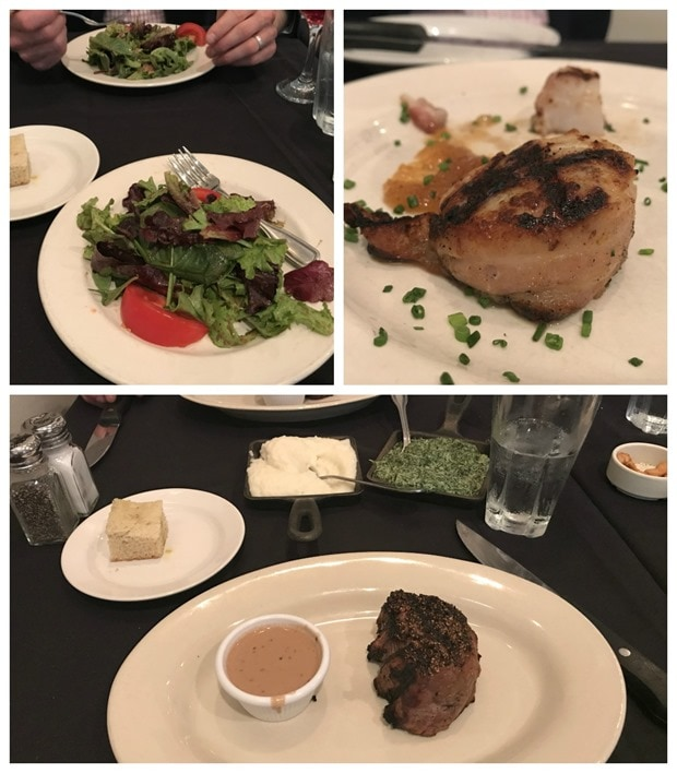 rays the steaks dinner