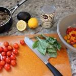 Recent Eats: Quinoa + Lentil Grain Salad Bowl