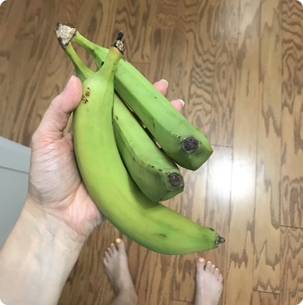 green bananas that never get ripe