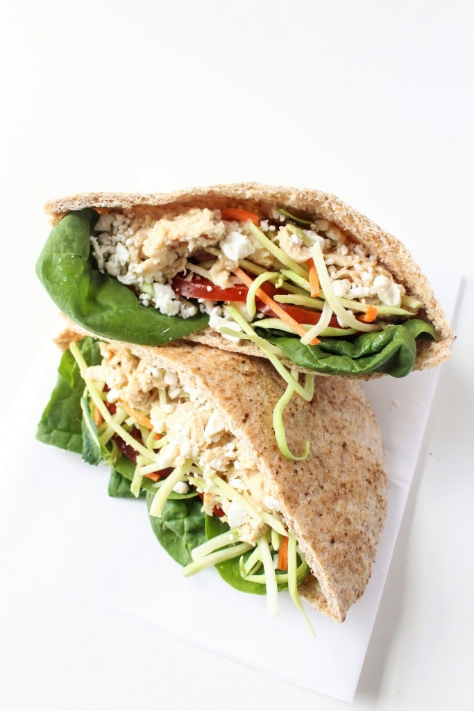 Healthy Sandwich Recipes - Healthier Tuna Salad Sandwich