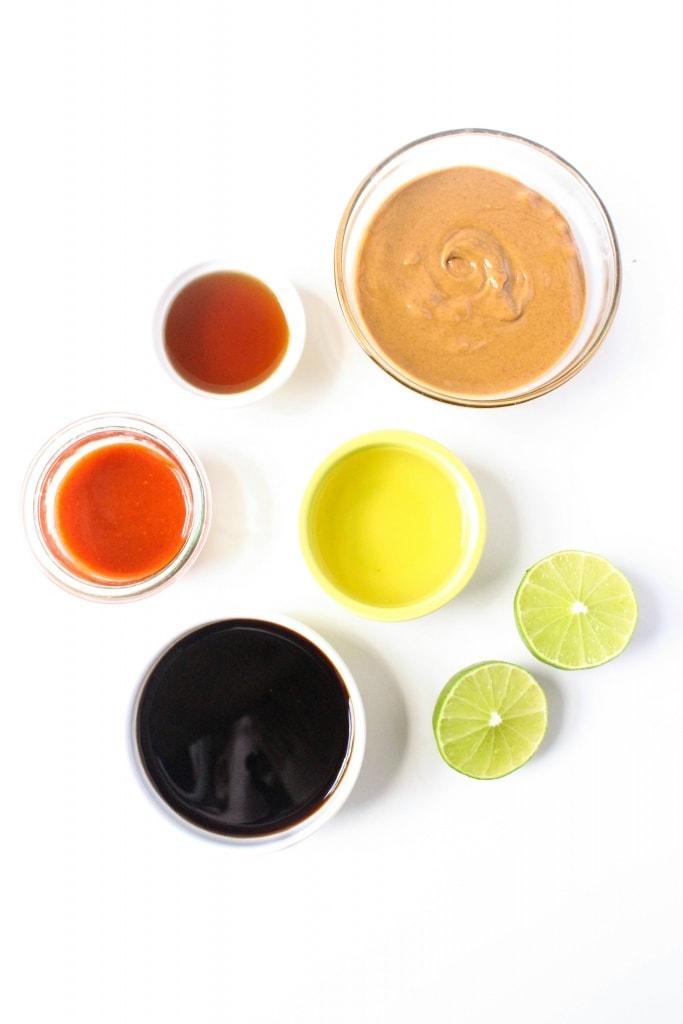 Healthy Lettuce Wrap Recipes - sauce