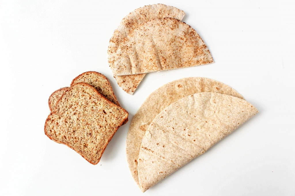 Healthy Sandwich Recipes - whole wheat bread