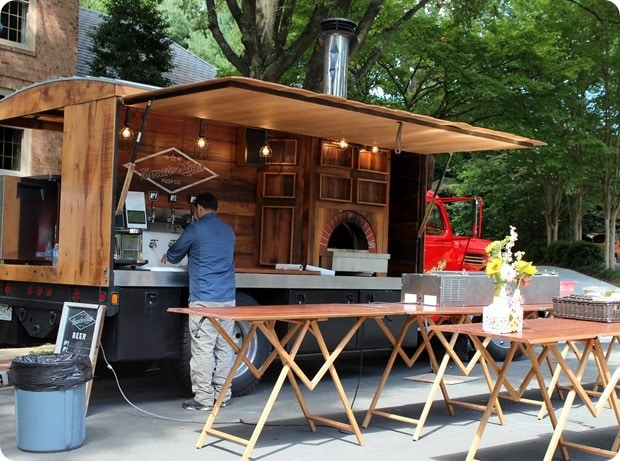 dc wood fired pizza truck for rent