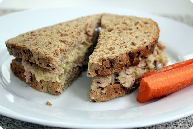 tuna salad with sauerkraut