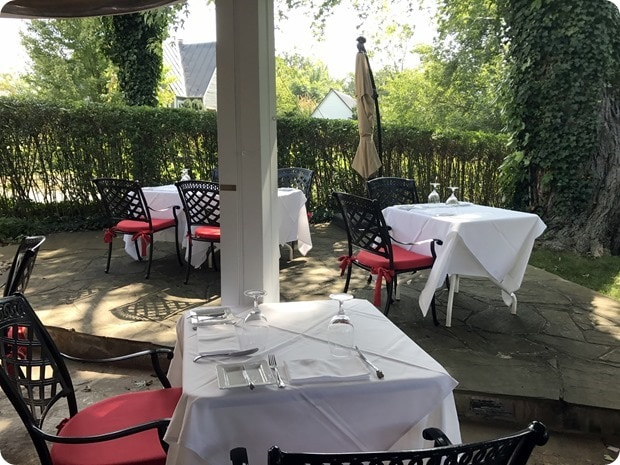 ashby inn lunch review