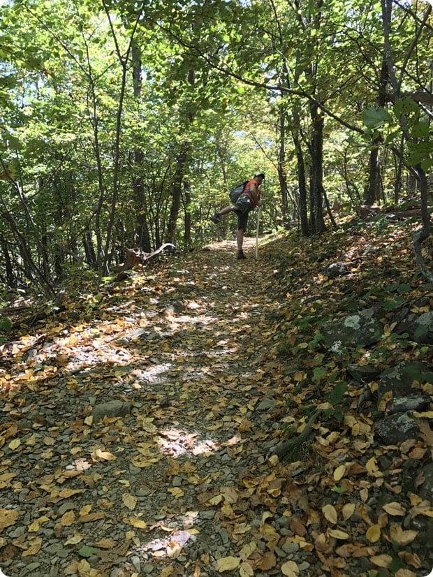 hiking compton gap