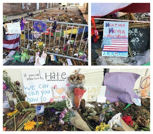 charlottesville heather heyer memorial