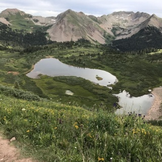 through hiking the colorado trail