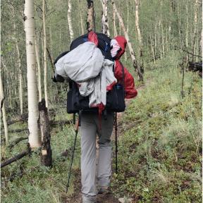 through hiking the colorado trail