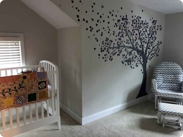 baby room tree wall sticker