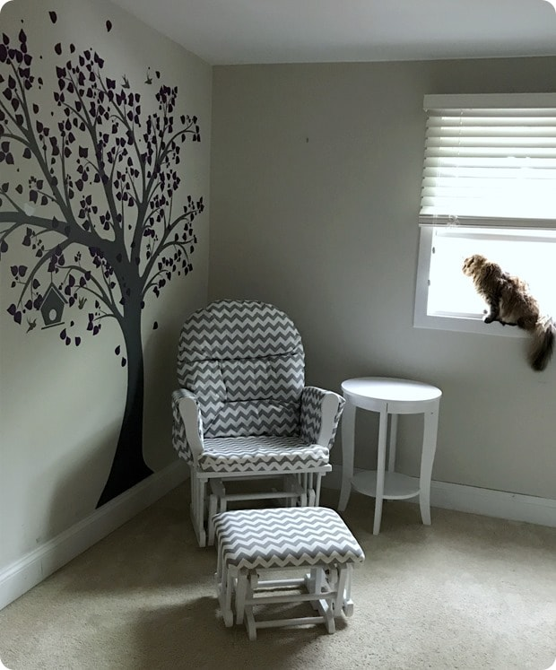baby's room tree wall decal