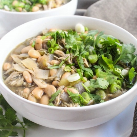 Chicken & White Bean Chili Soup
