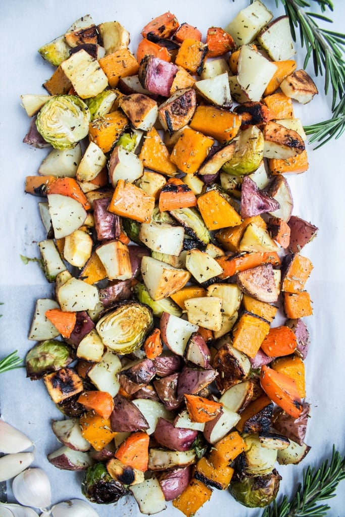 how to love veggies - roasted veggies