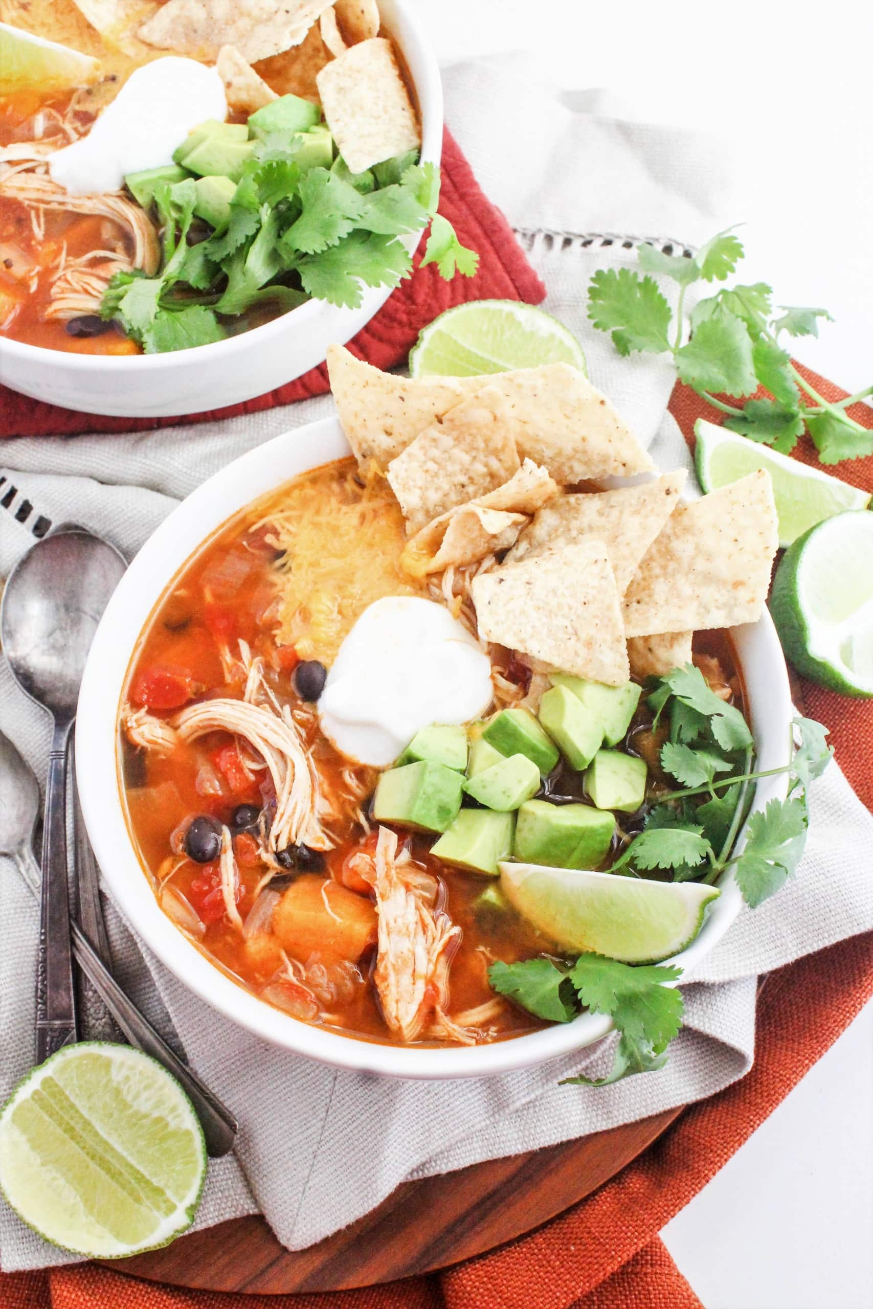 Instant Pot Chicken Tortilla Soup Recipe Quick And Healthy Dinner