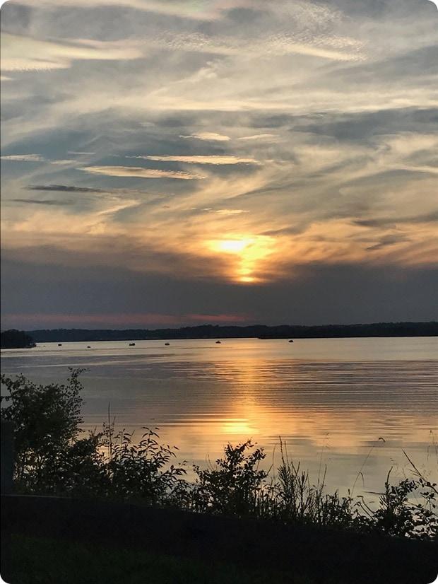 mason neck state park sunset