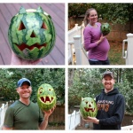 Weekend: Hiking + Watermelon Carving!
