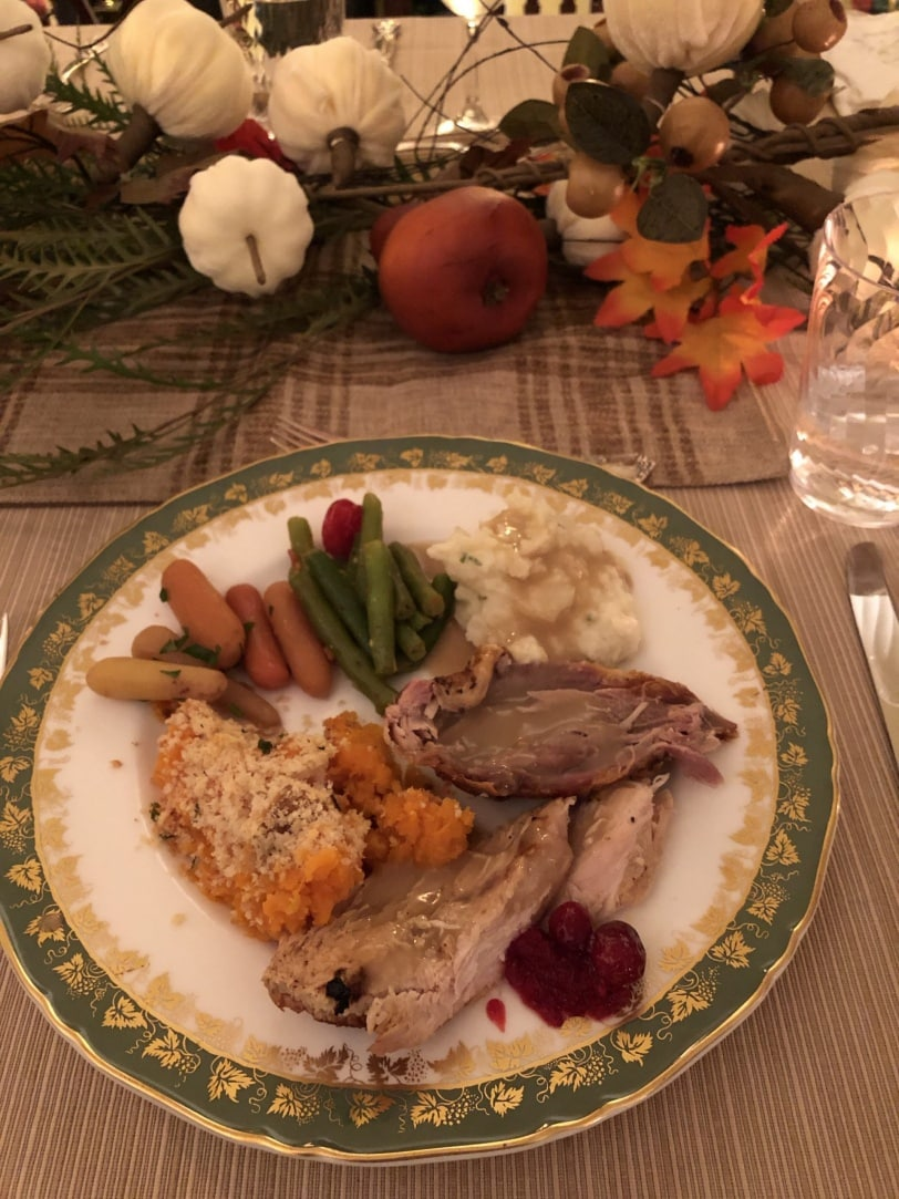 how to not be stressed out at holiday dinners