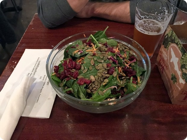 citizen burger bar salad