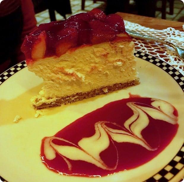 filomena ristorante cheesecake