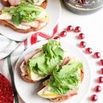 Ham and Pear Crostini Recipe