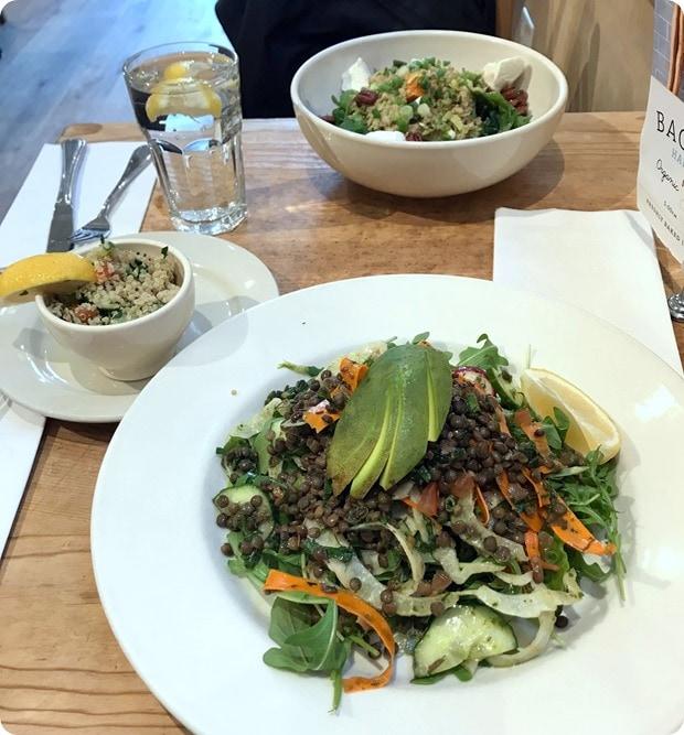 le pain quotidien lunch salad