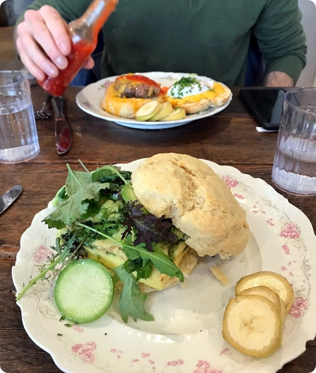 stomping ground biscuit sandwich