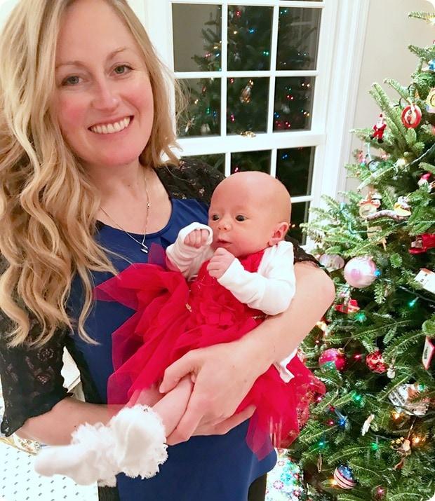 baby dress christmas