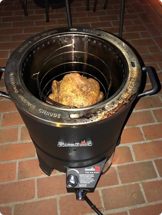fried turkey no oil