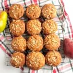 Pear Ginger Honey Muffins Recipe