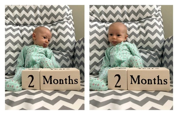 2 month old baby2