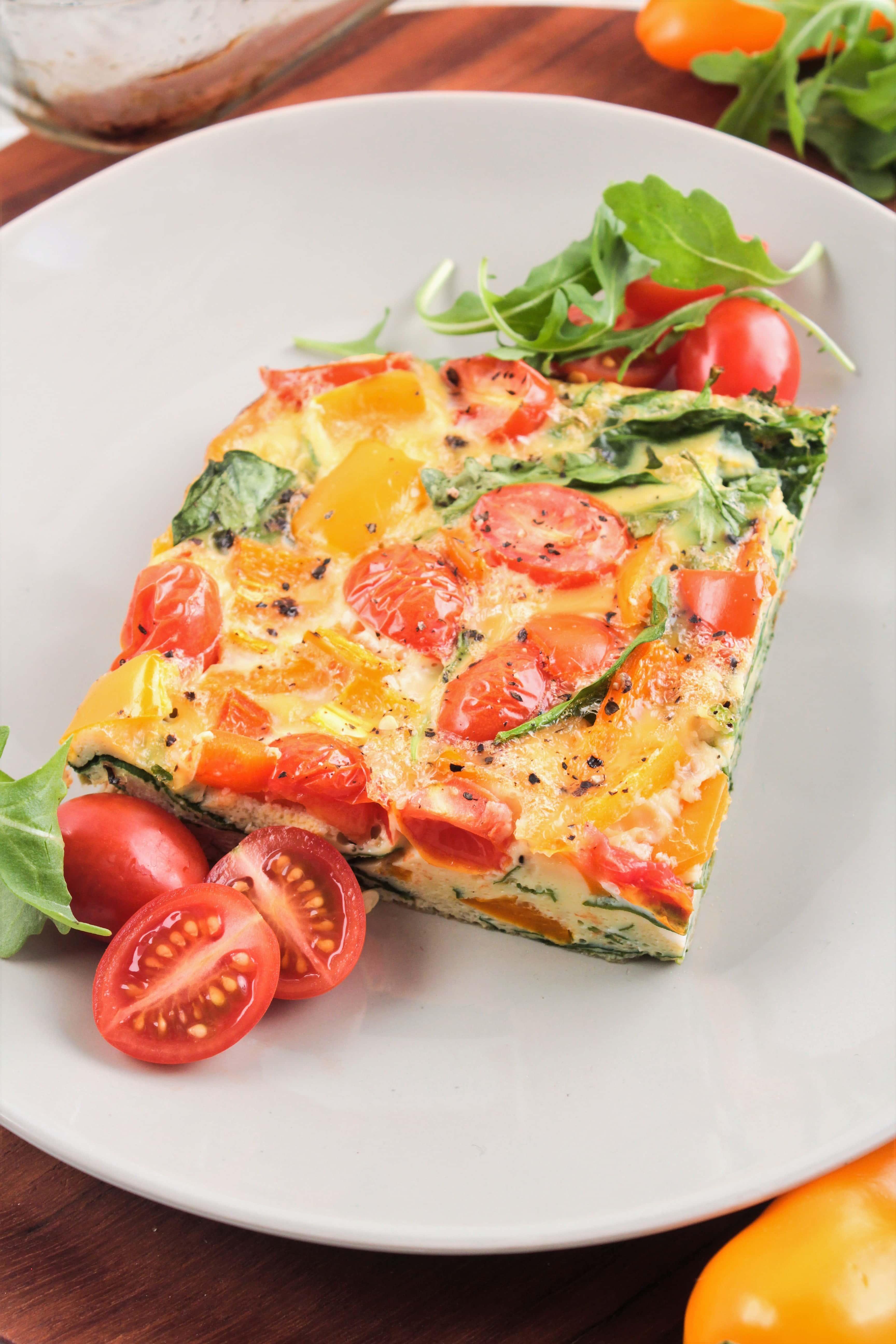 Make Ahead Veggie Egg Sandwiches