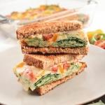 Make-Ahead Veggie Egg Sandwiches