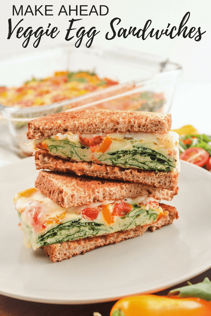 Make Ahead Veggie Egg Sandwiches recipe