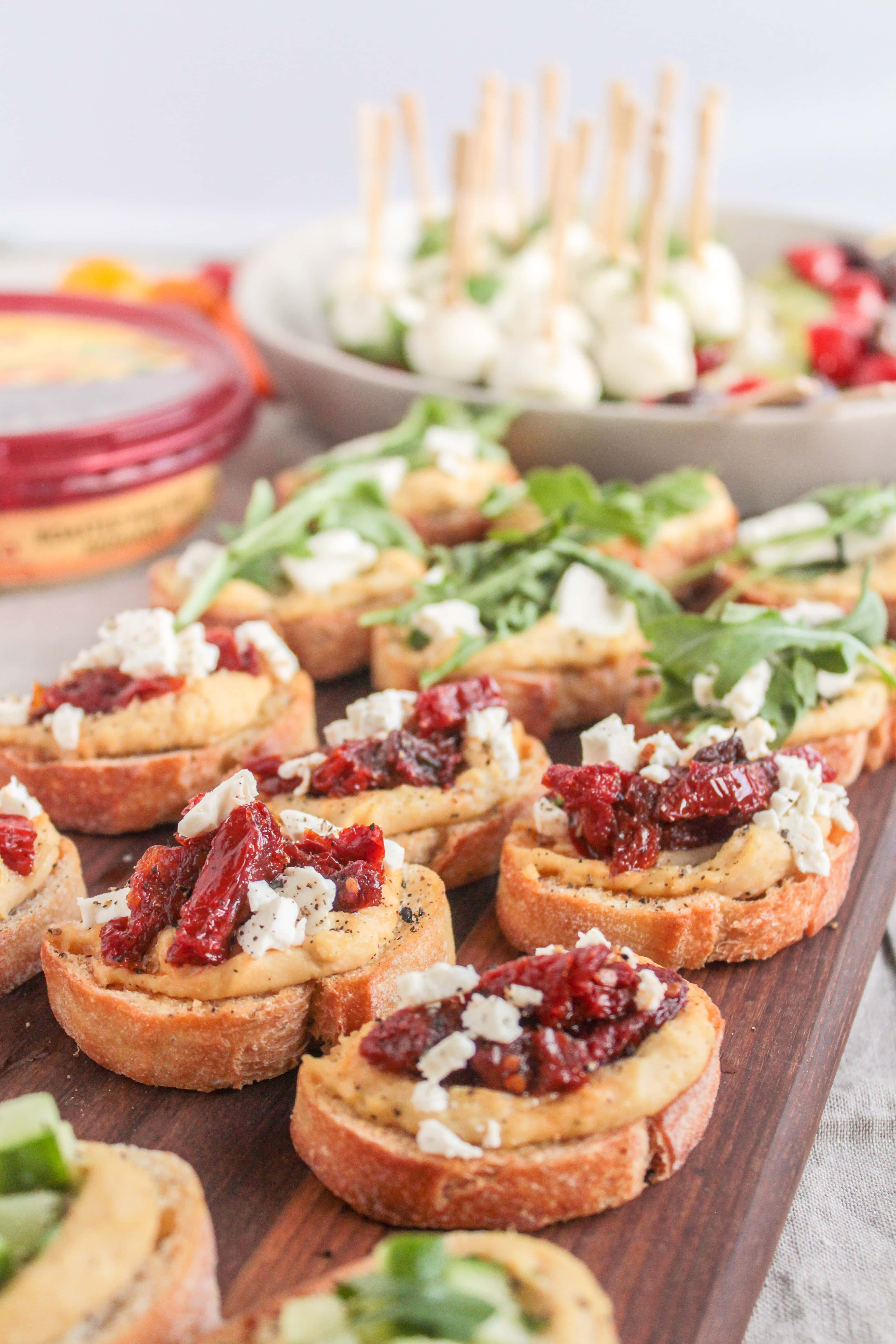 healthy throw together super bowl snacks ideas - fannetastic food