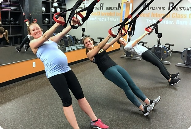 working out at 40 weeks pregnant
