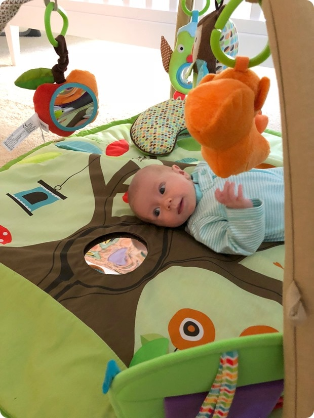 baby jungle mat