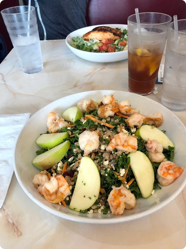 kale farro salad silver diner