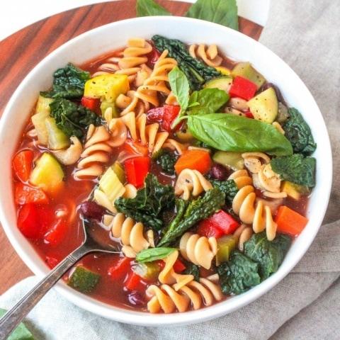Veggietastic Minestrone Soup