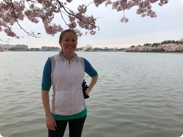 cherry blossom morning run 5