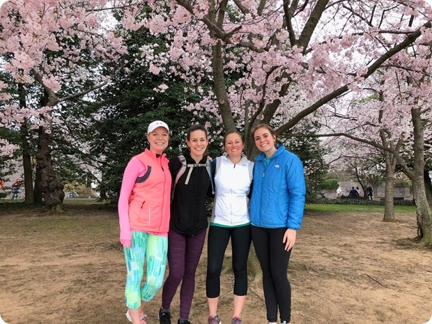 cherry blossom morning run 7
