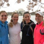 Running the DC Cherry Blossoms!