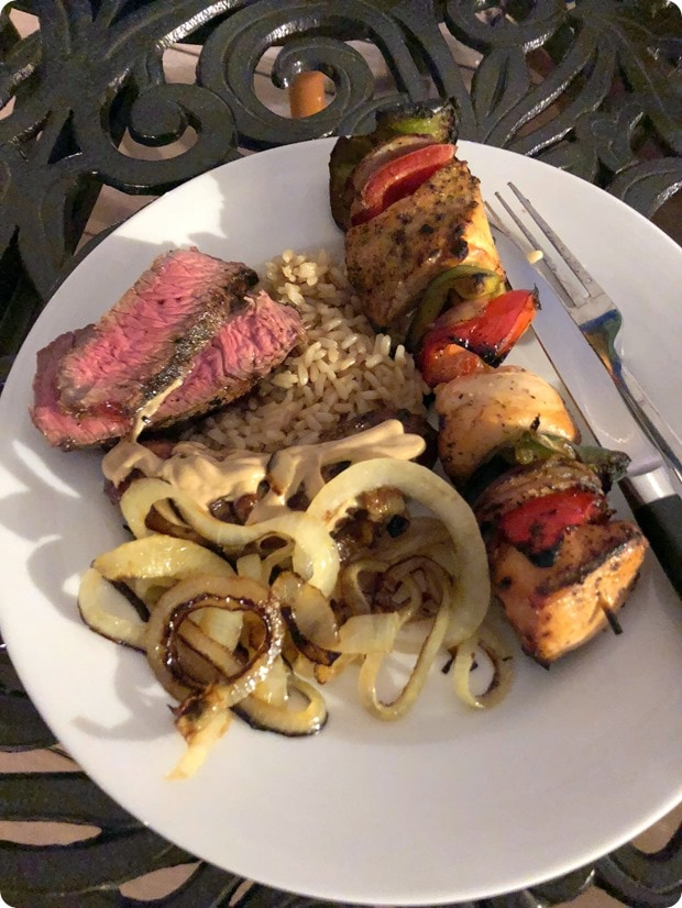 grilling out spring