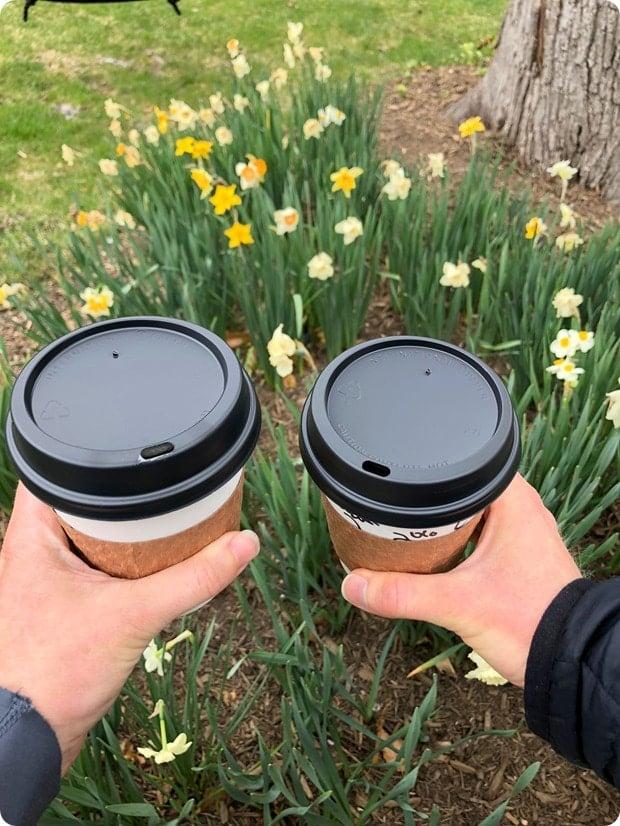 spring latte