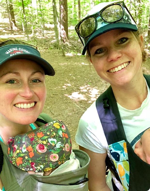 hiking with babies northern virginia