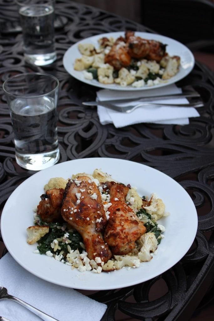 blue apron summer dinner