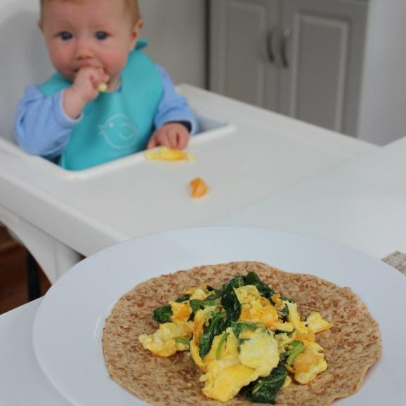 baby led weaning breakfast