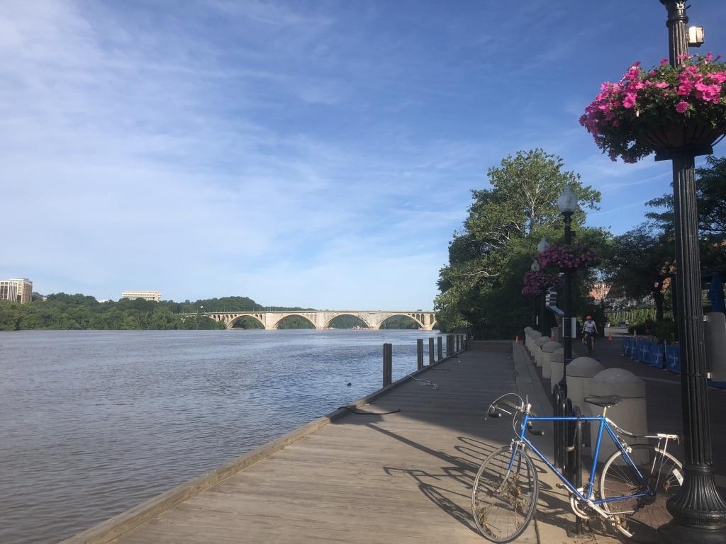 georgetown waterfront morning run