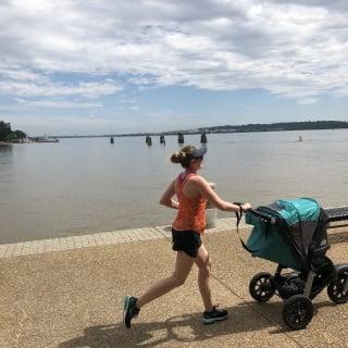 running postpartum with baby 7 months