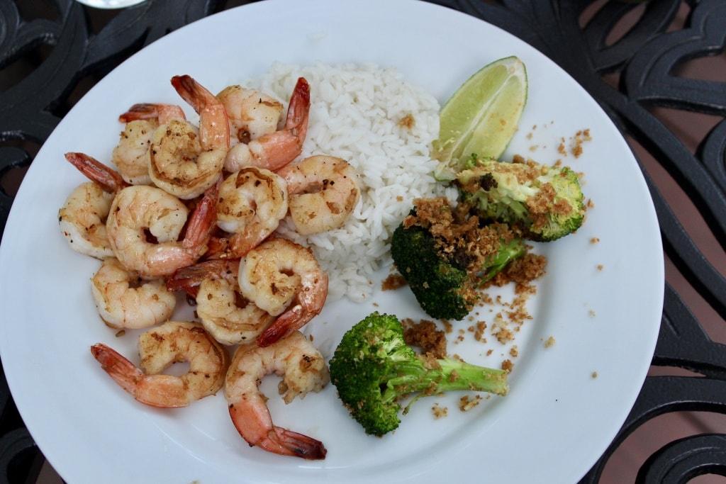 chrissy teigen garlic soy shrimp blue apron